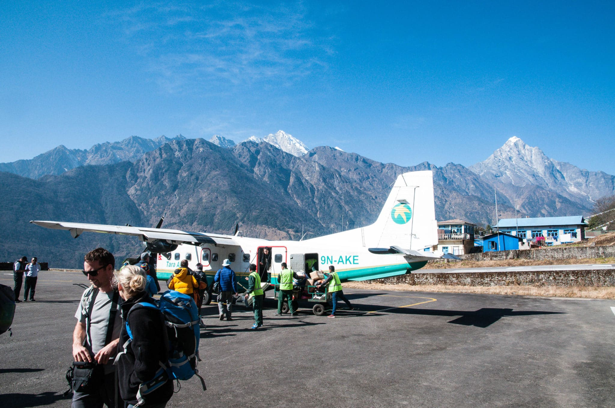 Our Plane brings us to Lukla