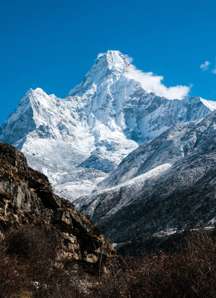 The majestic Ama Dablam