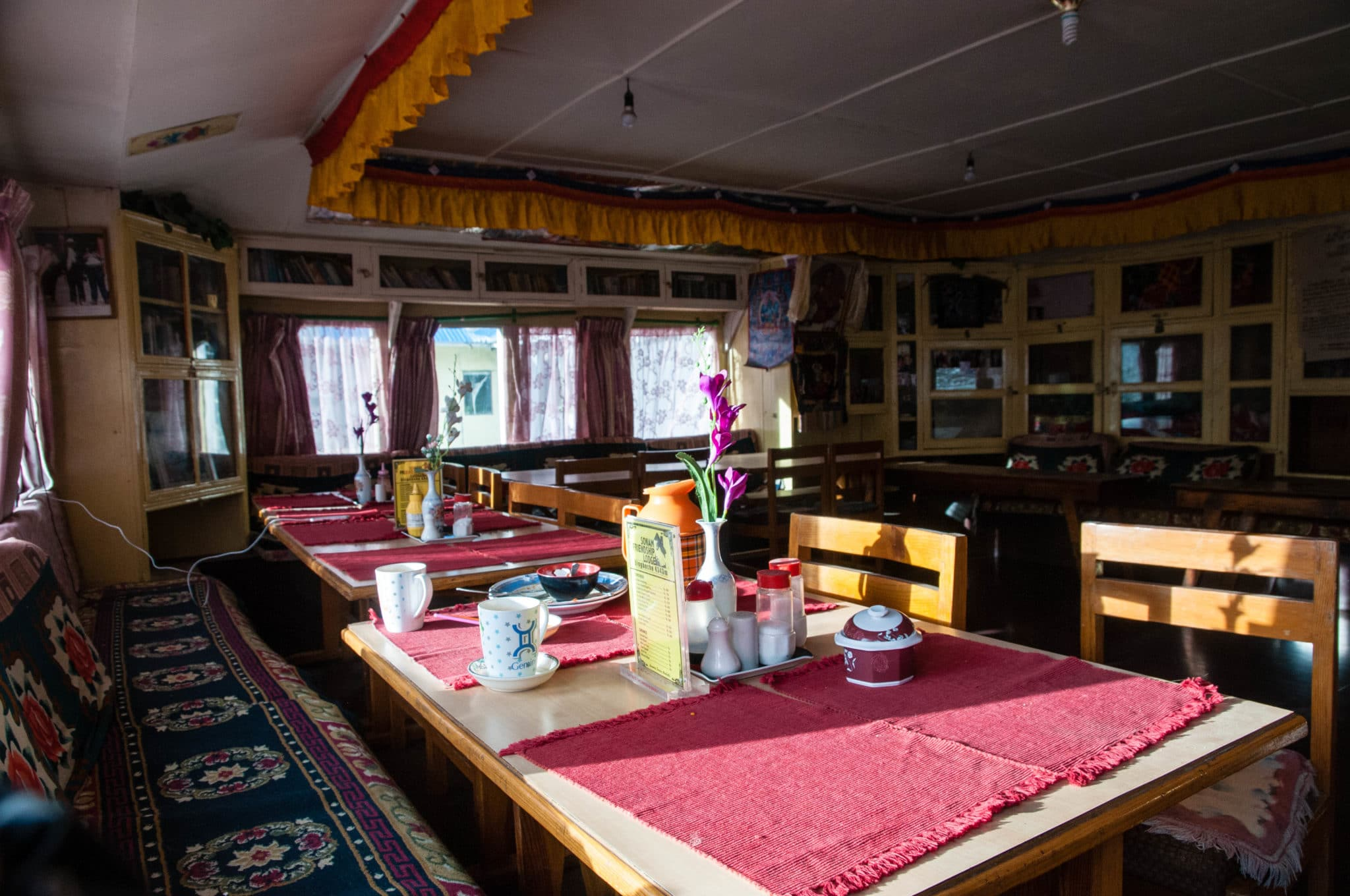 Our peaceful teahouse in Dingboche