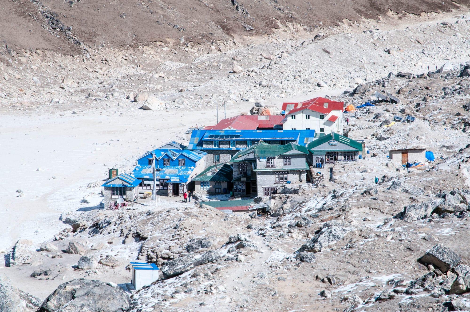 The small outpost of Gorakshep