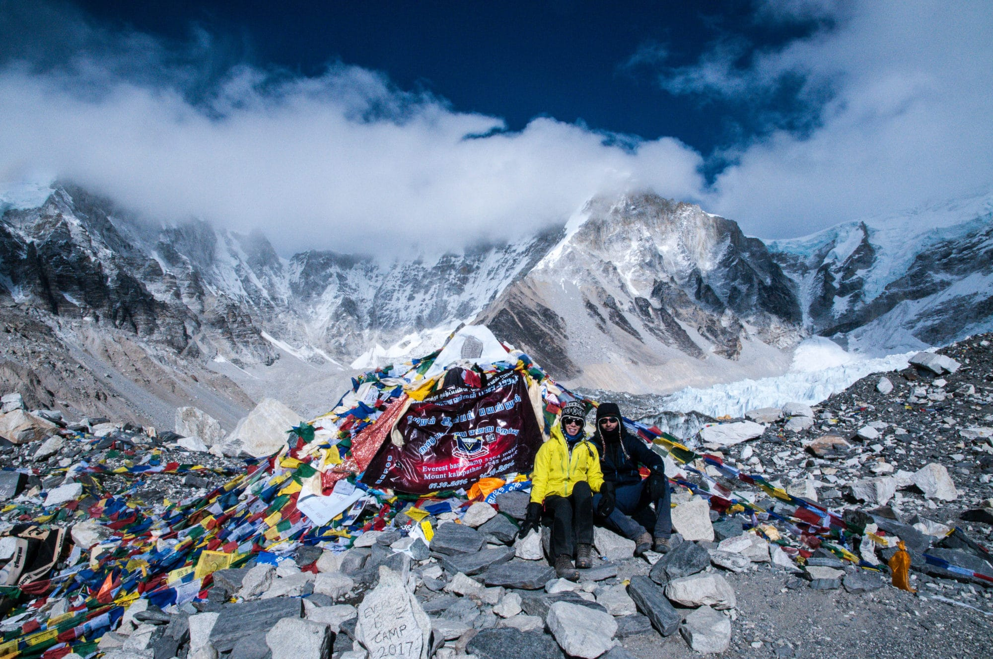 We made it to Mount Everest Base Camp on January 7, 2017