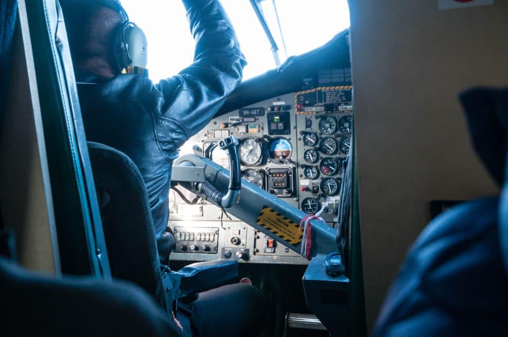 Our Pilots Taking us back to Kathmandu