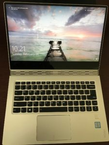 Lenovo Yoga 910 2-in-1 laptop