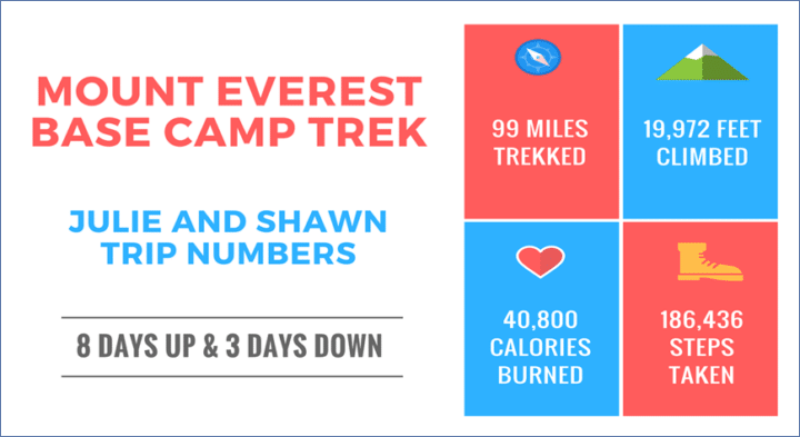 Mount Everest Base Camp Trek Statistics