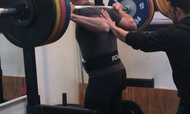 Strength Training: New Back Squat Personal Record
