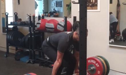 New Deadlift Personal Record – 485 lb / 220 Kg PR