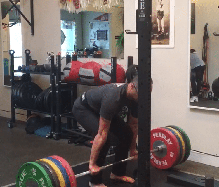 New Deadlift Personal Record – 485 lb / 220 Kg PR | Julie and Shawn