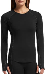 icebreaker base layer woman