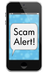 sms texting scam trick