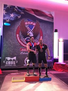 Shawn 2nd place deadlift-only